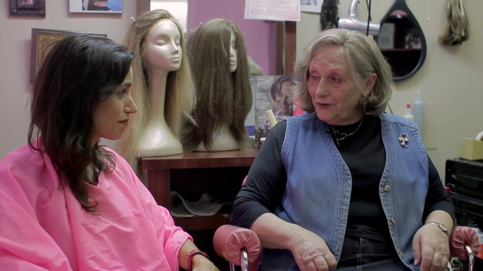 Wig Shopping ('Employee of the Month' short film)