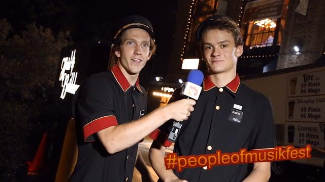#peopleofmusikfest - #bellboys #billiejean #sweatpants