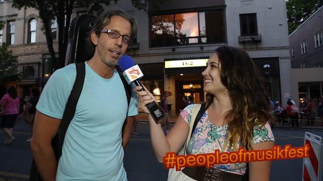 #peopleofmusikfest - #photobomb #duh