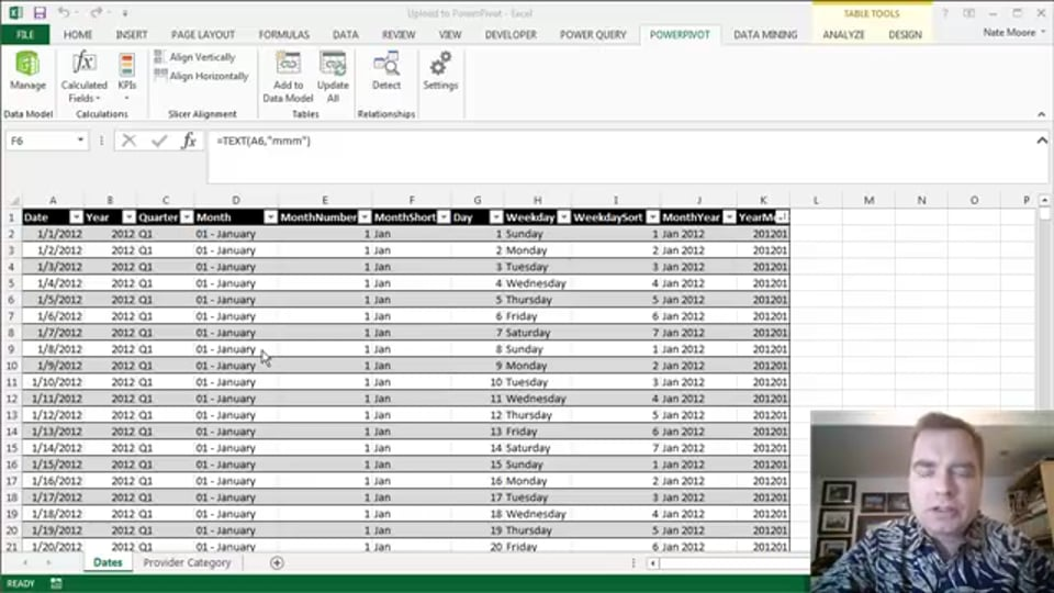 Excel Video 475 Loading Data into the Excel Data Model