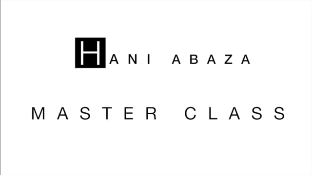 Hani Abaza - Master Classes