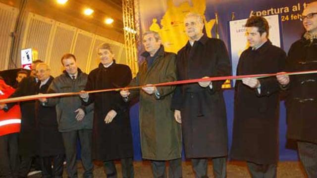 Inaugurazione raccordo Lecco - Ballabio
