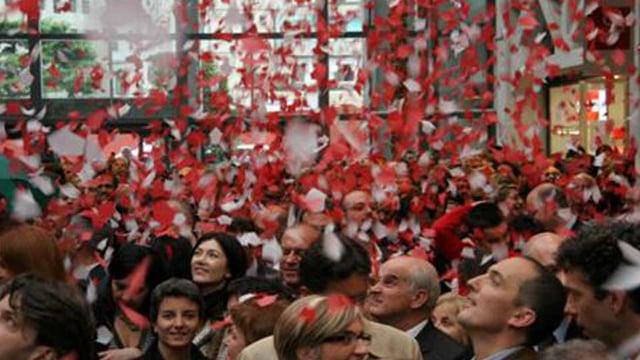Inaugurazione Freccia Rossa
