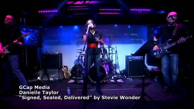 GCap Media - Danielle Taylor sings 'Signed, Sealed, Delivered'