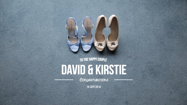 David & Kirstie // Highlights