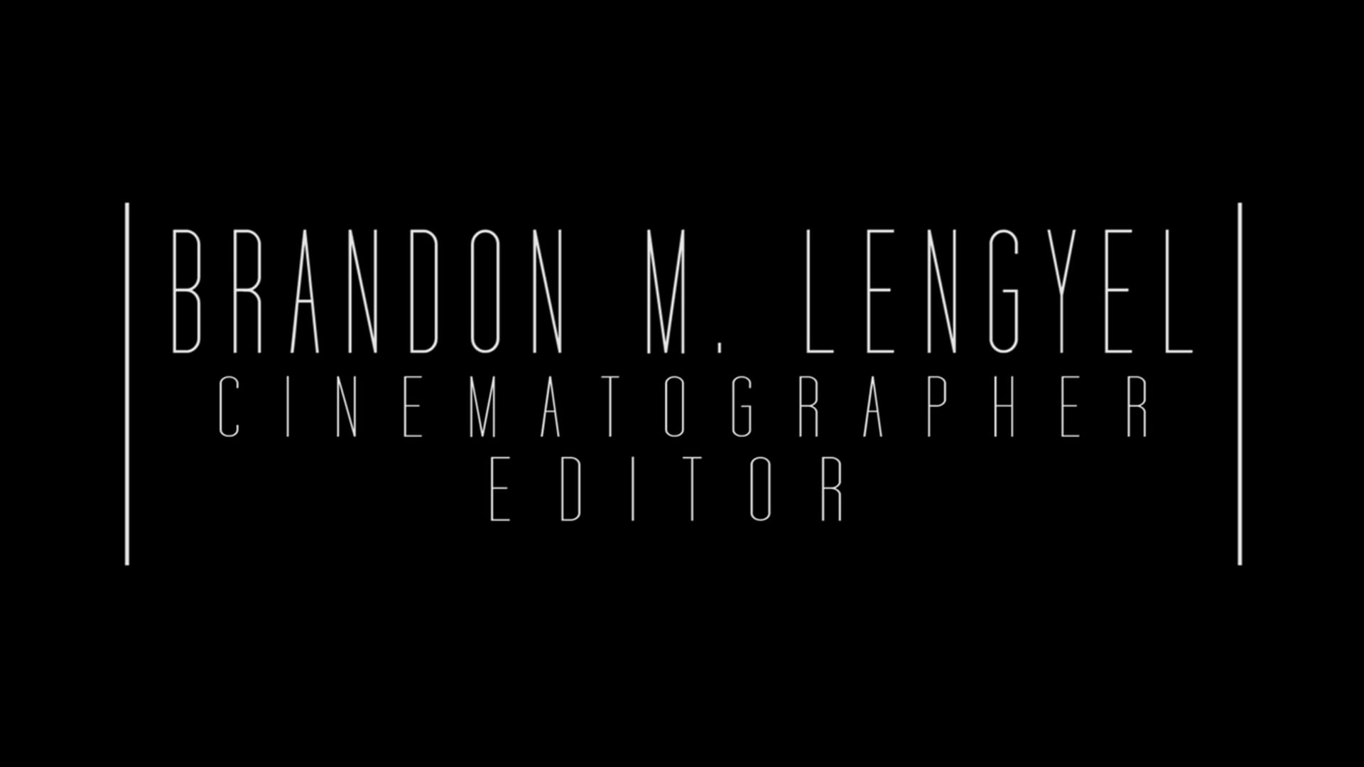 Brandon M. Lengyel - 2015 Reel