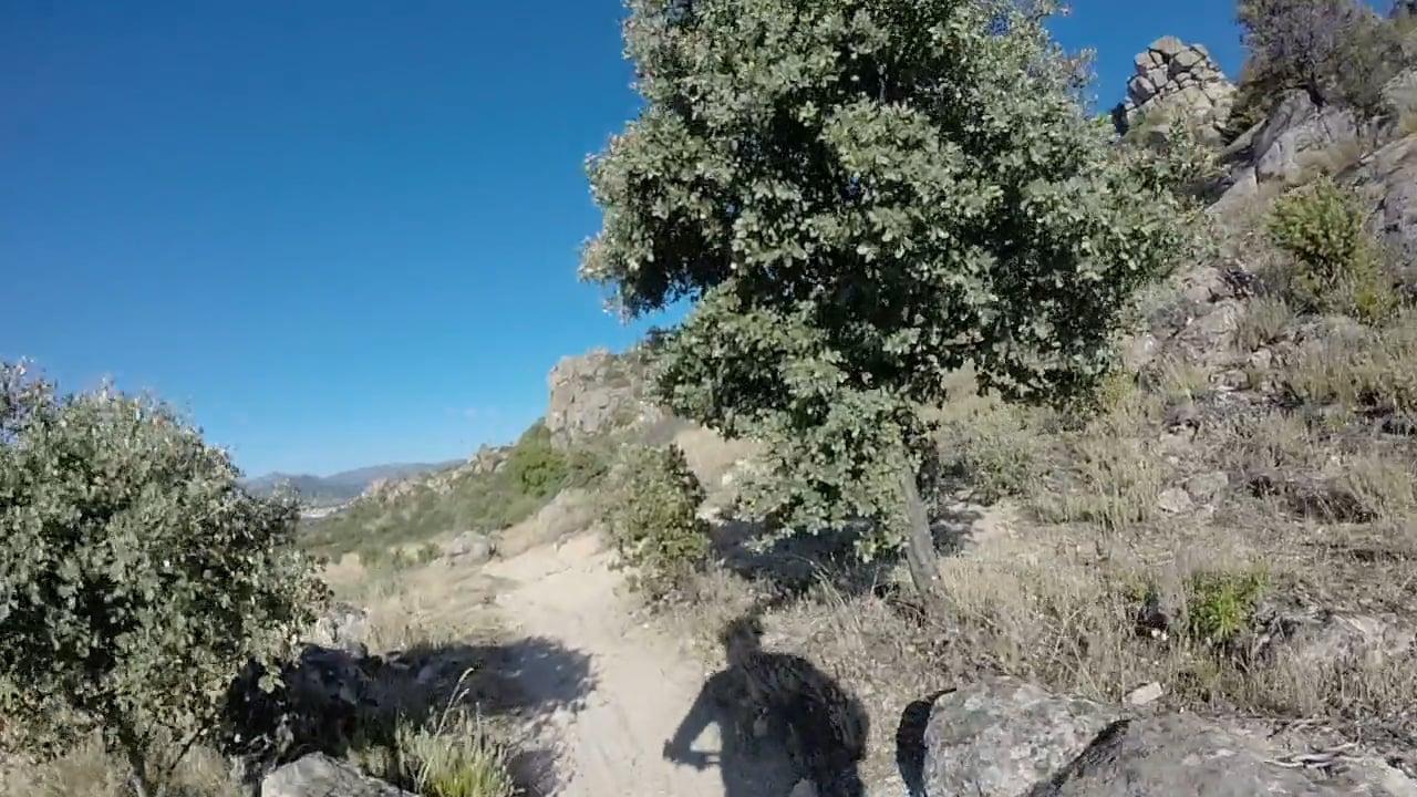 MTB en la sierra de La Cabrera 00 (Comienzos de la ruta)