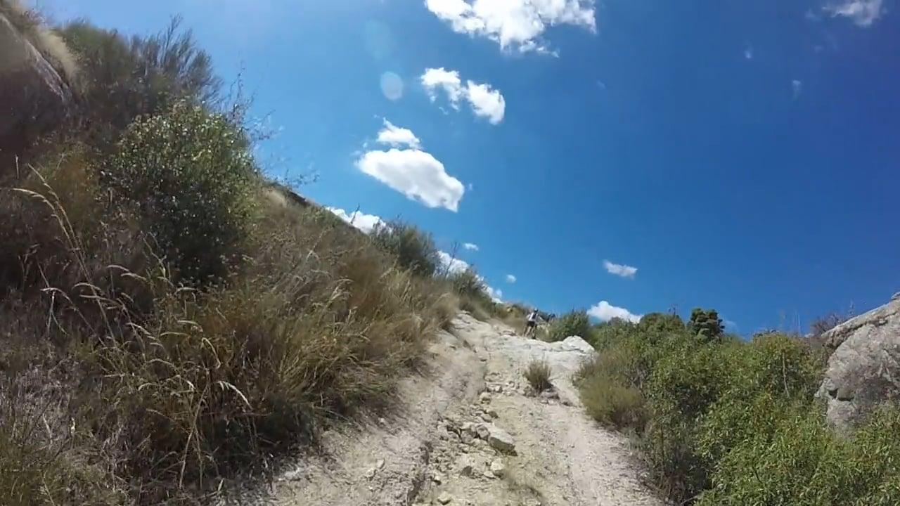 MTB en la sierra de La Cabrera 03 (Rampas de vuelta a La Cabrera)