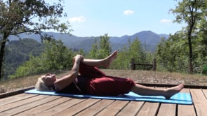 Relaxation Pilates Session in Tuscany