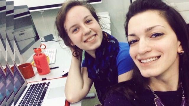 The Nomination Best creative tandem of the year (third one - Valentina Voinova & Olga Khomko)