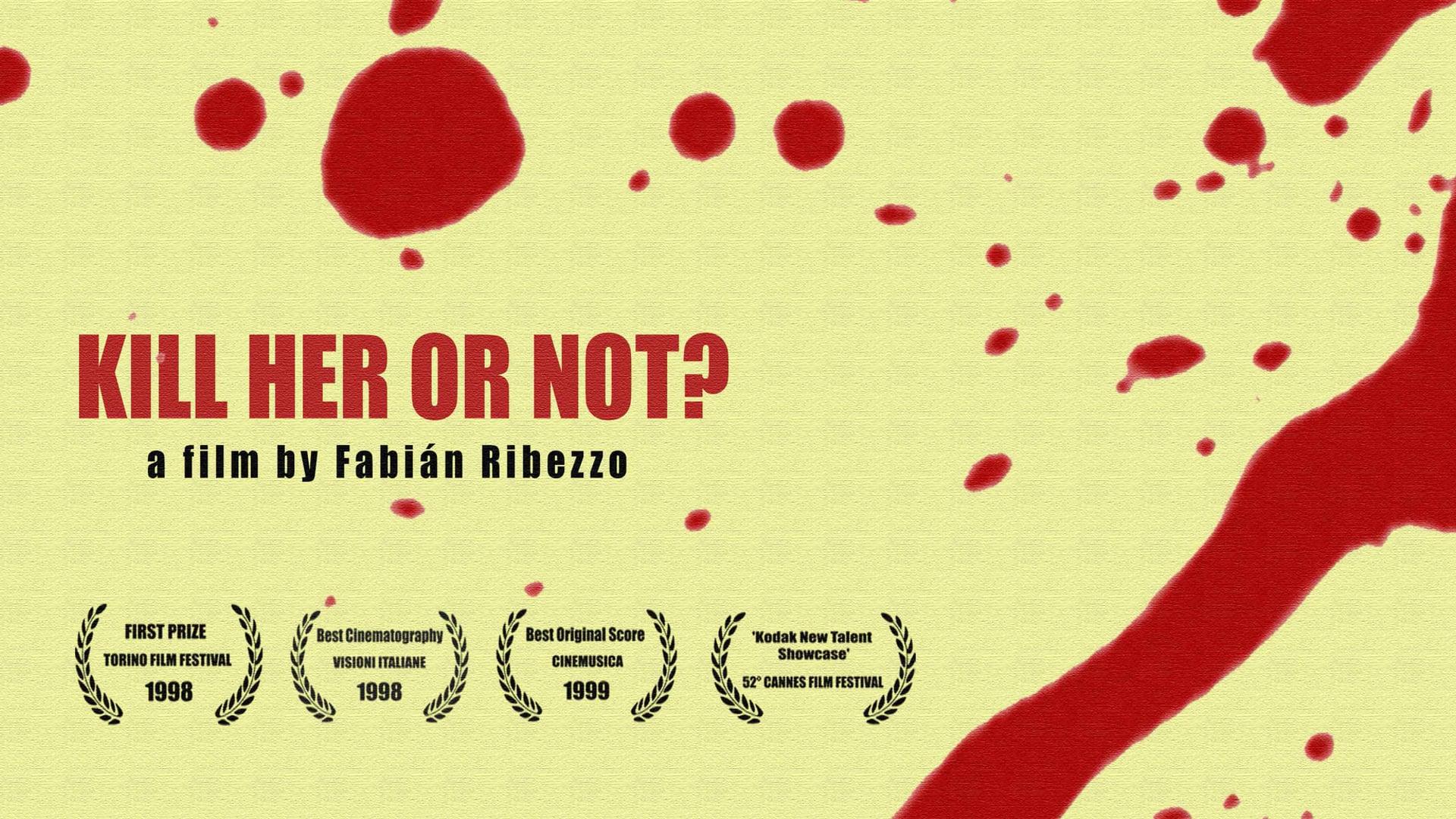 KILL HER OR NOT? shortmovie / 13min/ Italy/ 1998/ ENG subtitles