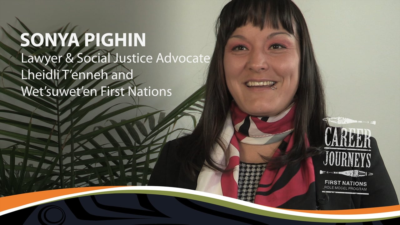 Sonya Pighin, Lawyer and Social Justice Advocate, Career Journeys