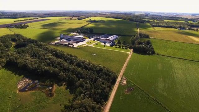 Kærsholm-Overgaard fra luften