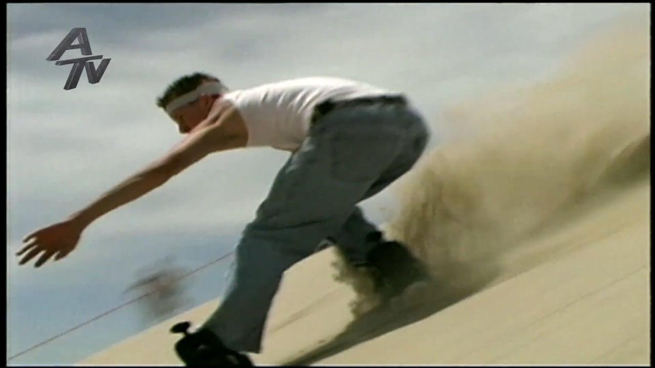 *Sandboarding