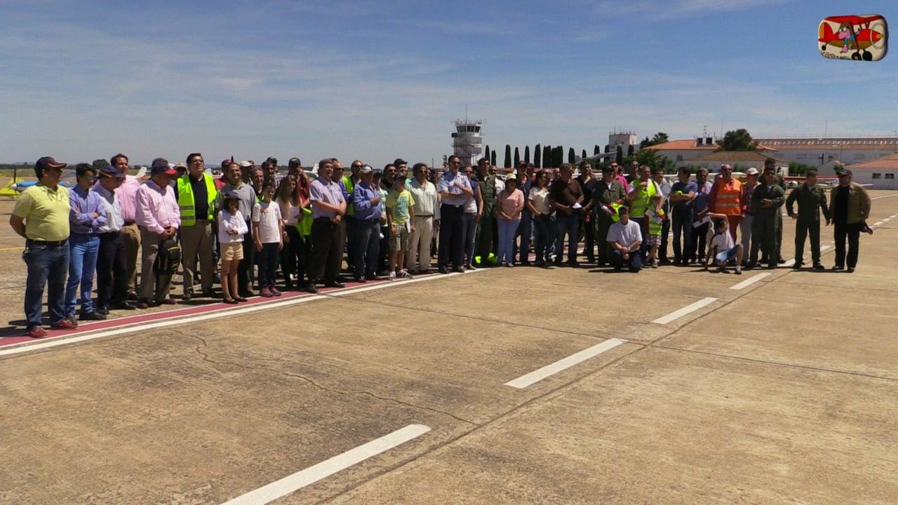 2ª Parte. Visita de Pilotex a la Base Aérea de Talavera la Real. Por AeroTV.