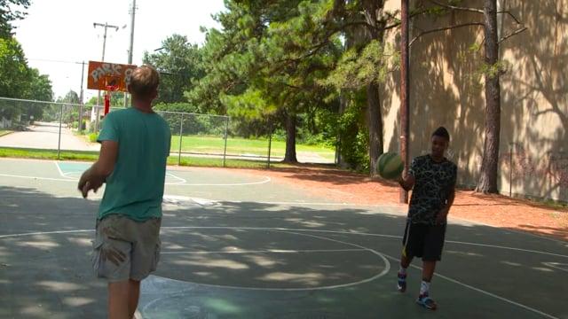 Stripe Memphis Basketball Courts
