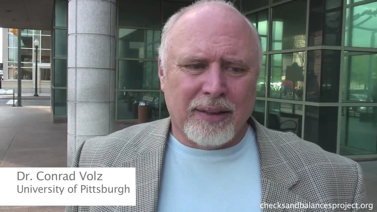 Dr. Conrad Volz on leaky wells