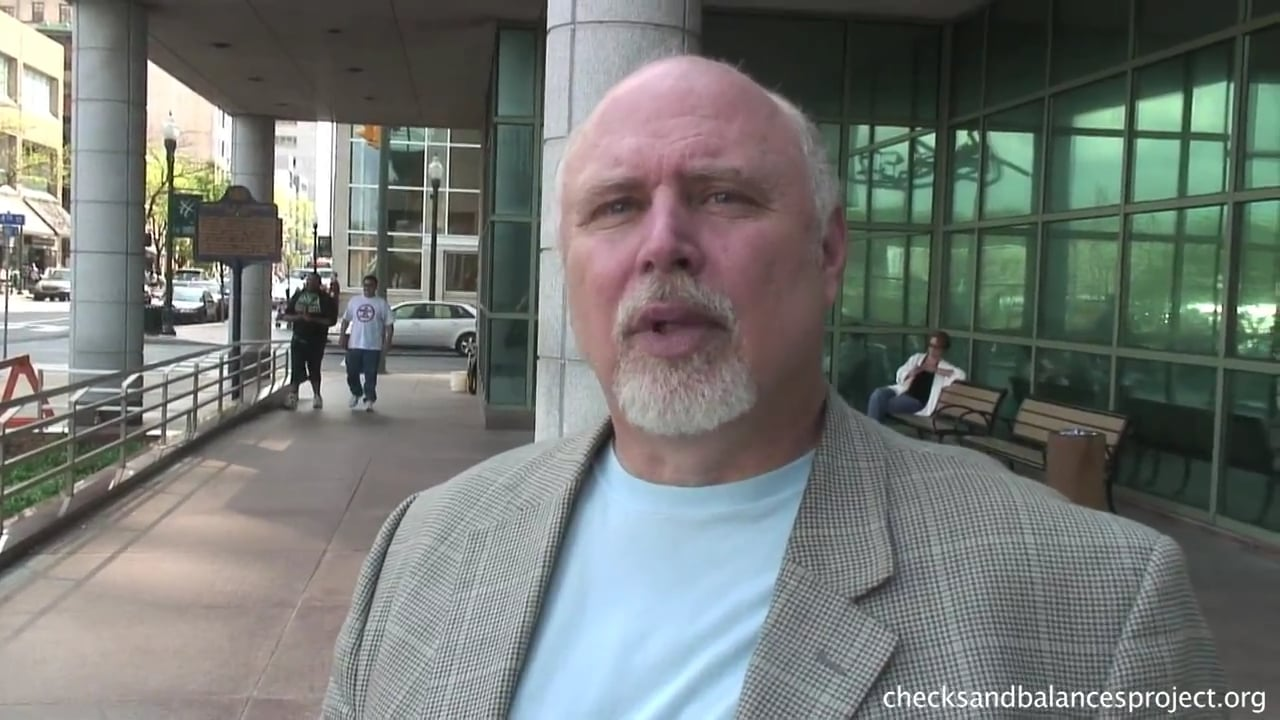 Dr. Conrad Volz on methane contamination from fracking wells