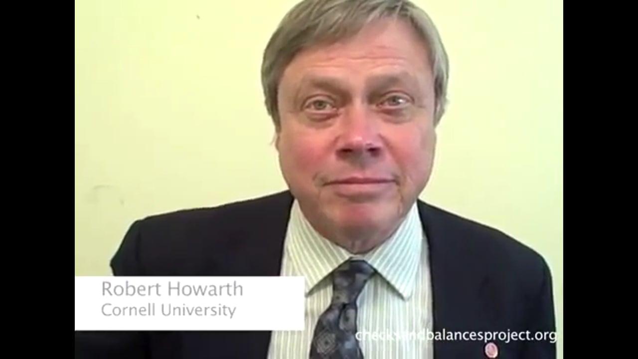 Howarth on discreditation