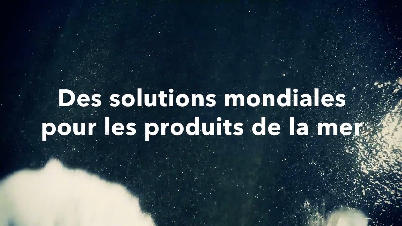 Des solutions mondiales pour les produits de la mer