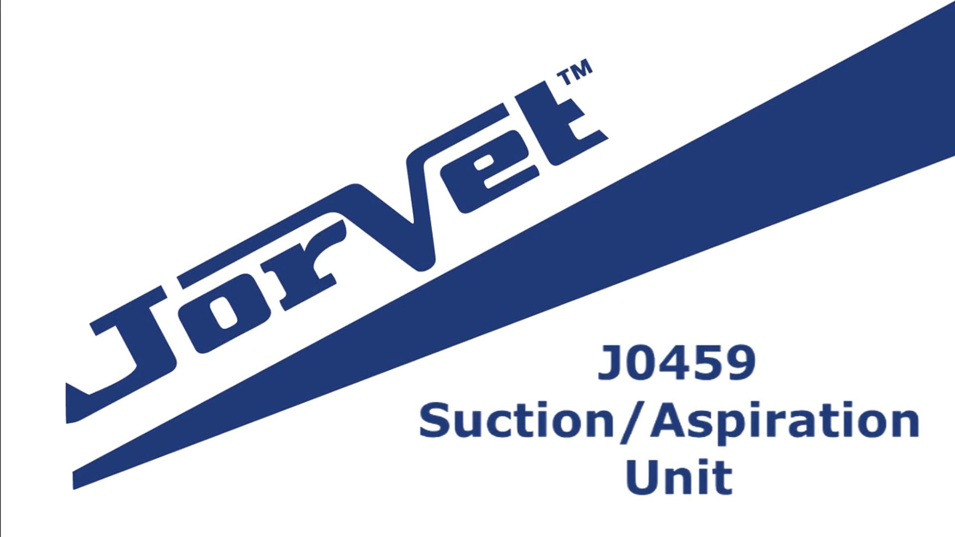 Jorvet Suction/Aspiration Unit J0459