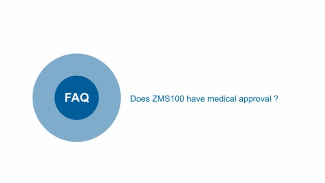 Do ZMS100 power supplies have medical approvals?