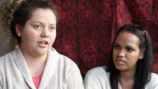 Ashleigh Clarke and Karina Barney - Butchulla