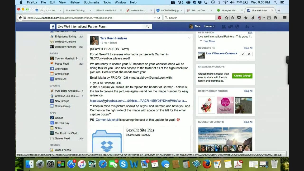 10.7.15 Live Well Partner Webinar: Know Our Best Systems + Updates (Tara Hantske)