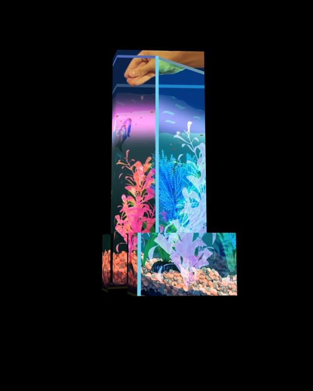 "AOTM15: Corey Corcoran: Untitled ""Feeding Fish"""