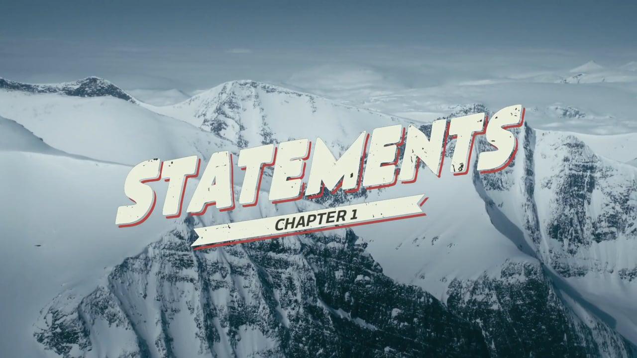 STATEMENTS - EXPLORING SWEDISH ALPS