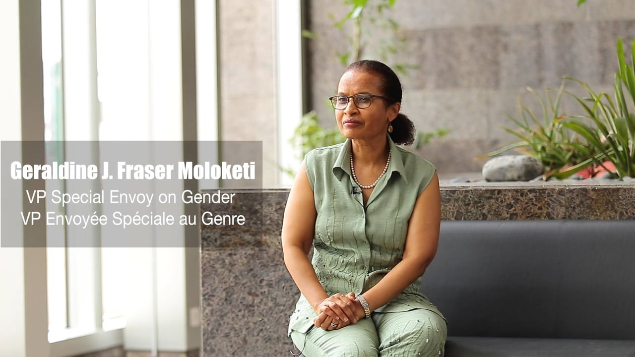 ITW Geraldine J. Fraser Moloketi AfDB