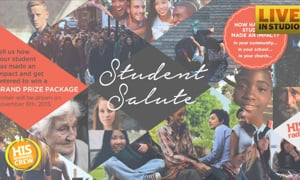 We're Launching the Student Salute!