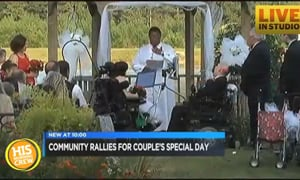 Public Gives Disabled Couple Dream Wedding
