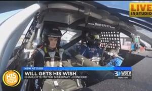Dale Earnhardt Jr. Makes Dream Come True for NC Boy