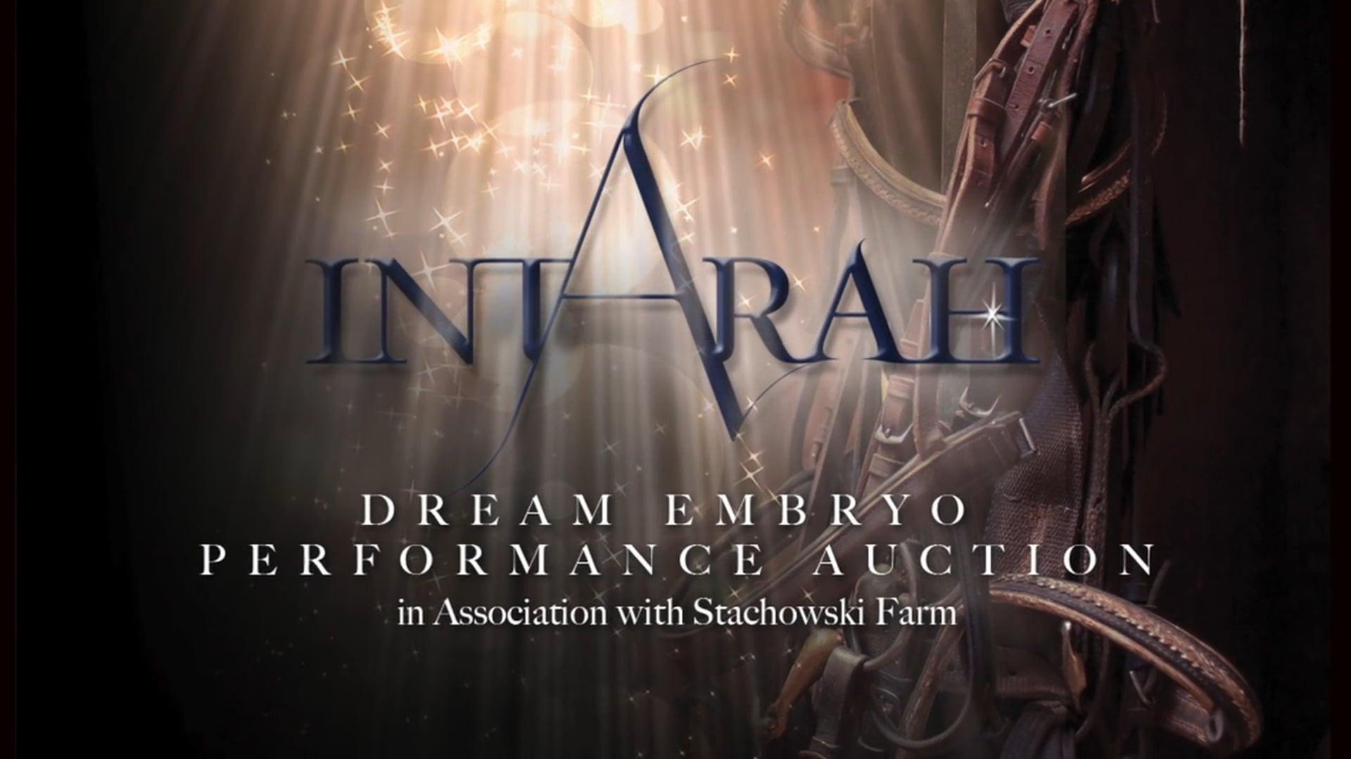 2016 IntArah Dream Embryo Performance Auction