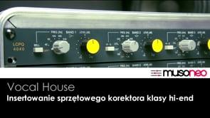 Sprzętowy MIAD Audio w torze DAW