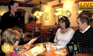 NC Family Eating Daily at Olive Garden