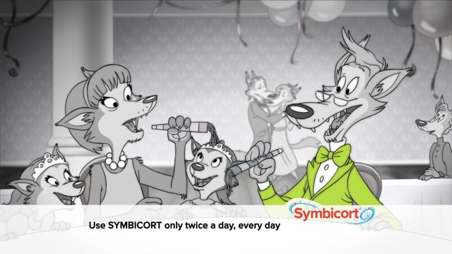 Symbicort Wolf Coloring Princesses