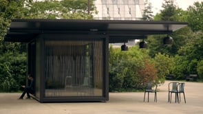 Pavillon modulable - Kiosque for Emerige, Ronan & Erwan Bouroullec, 2015