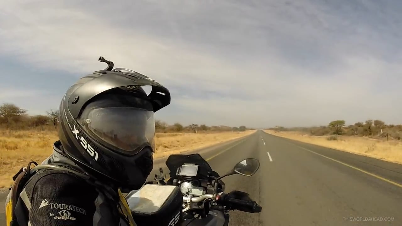 How are you? Four months of riding in Africa. Music: The House Of Love/In A Room