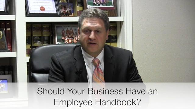 Employee Handbooks & Policy Manuals - Wharton El Campo Richmond Lawyers
