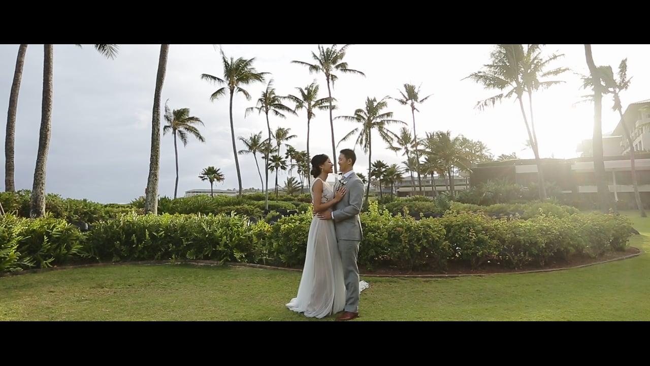 Priscilla + Jason | Hawaii Destination wedding