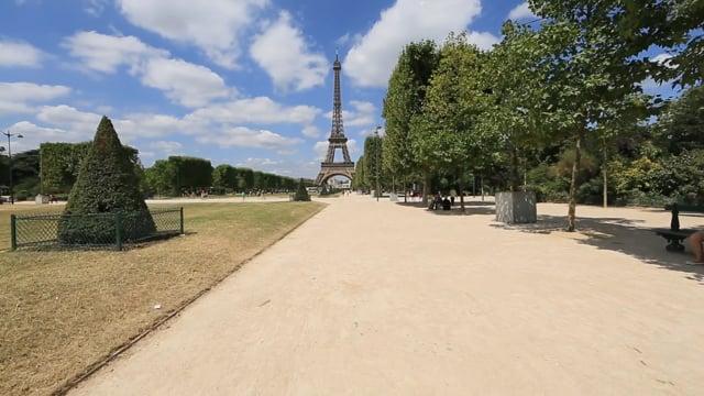 Virtual Walks through Romantic Paris - France - Virtual Tour around Eiffel Tower, Arc de Triomphe, Notre Dame