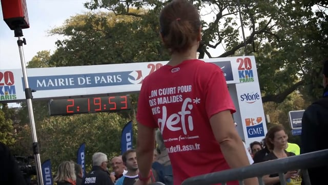 Défi - Les 20KM de Paris 2015