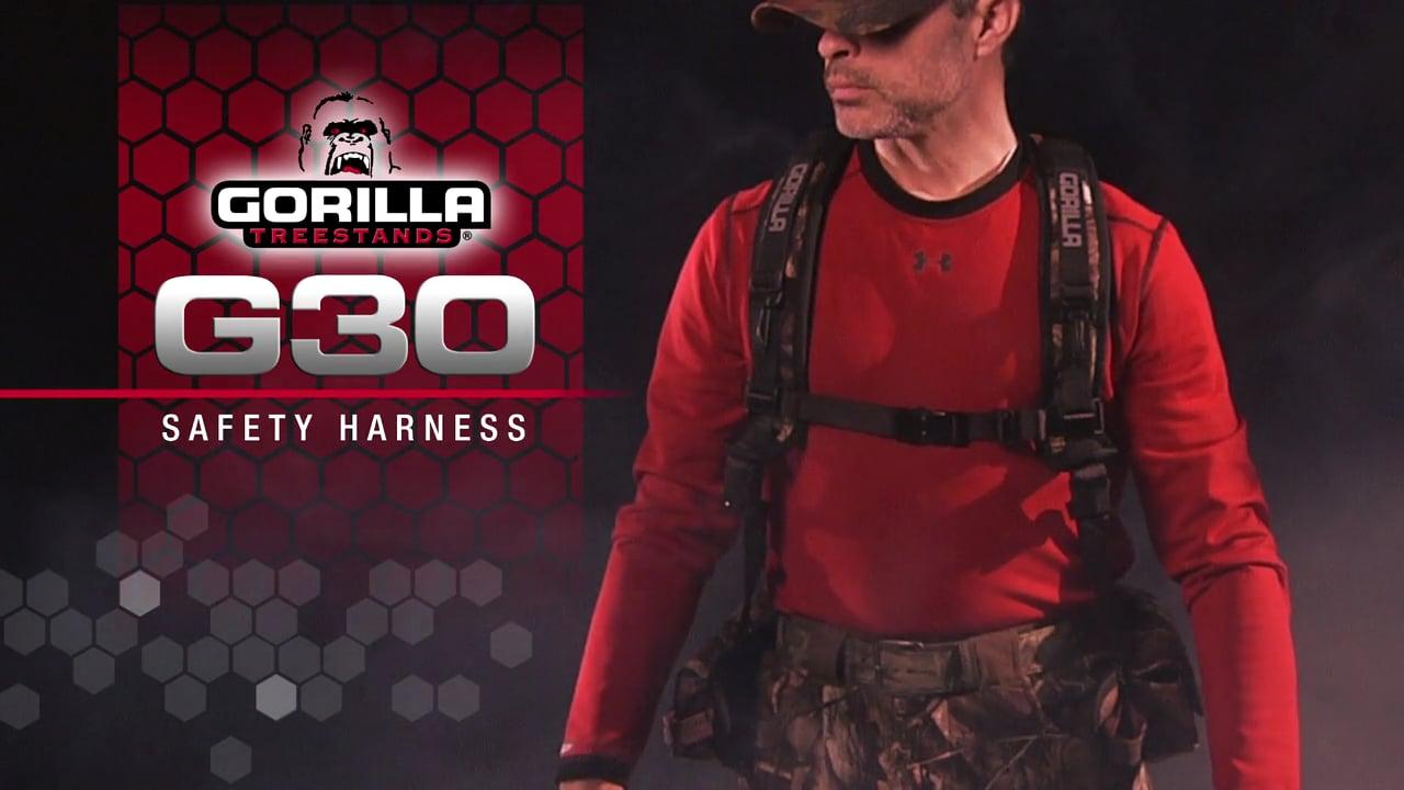 Gorilla Treestands G30 Harness