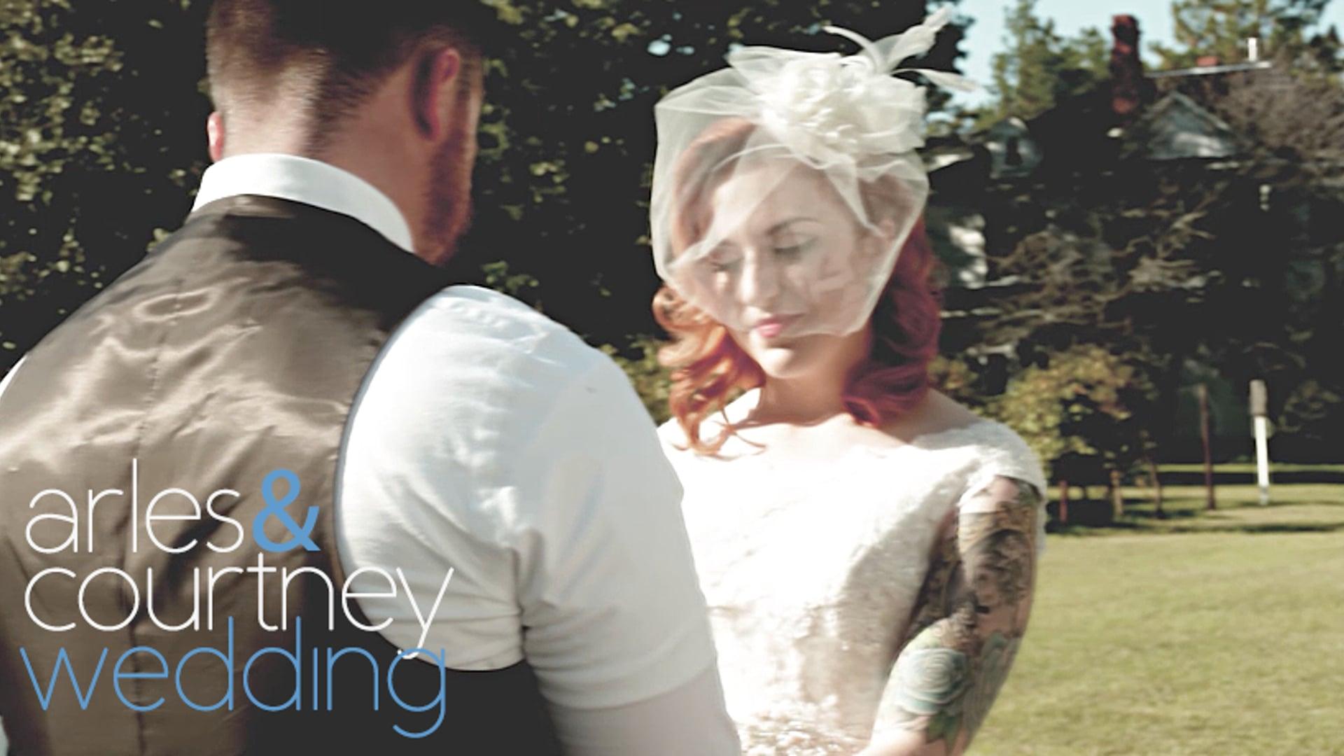 Arles & Courtney Wedding