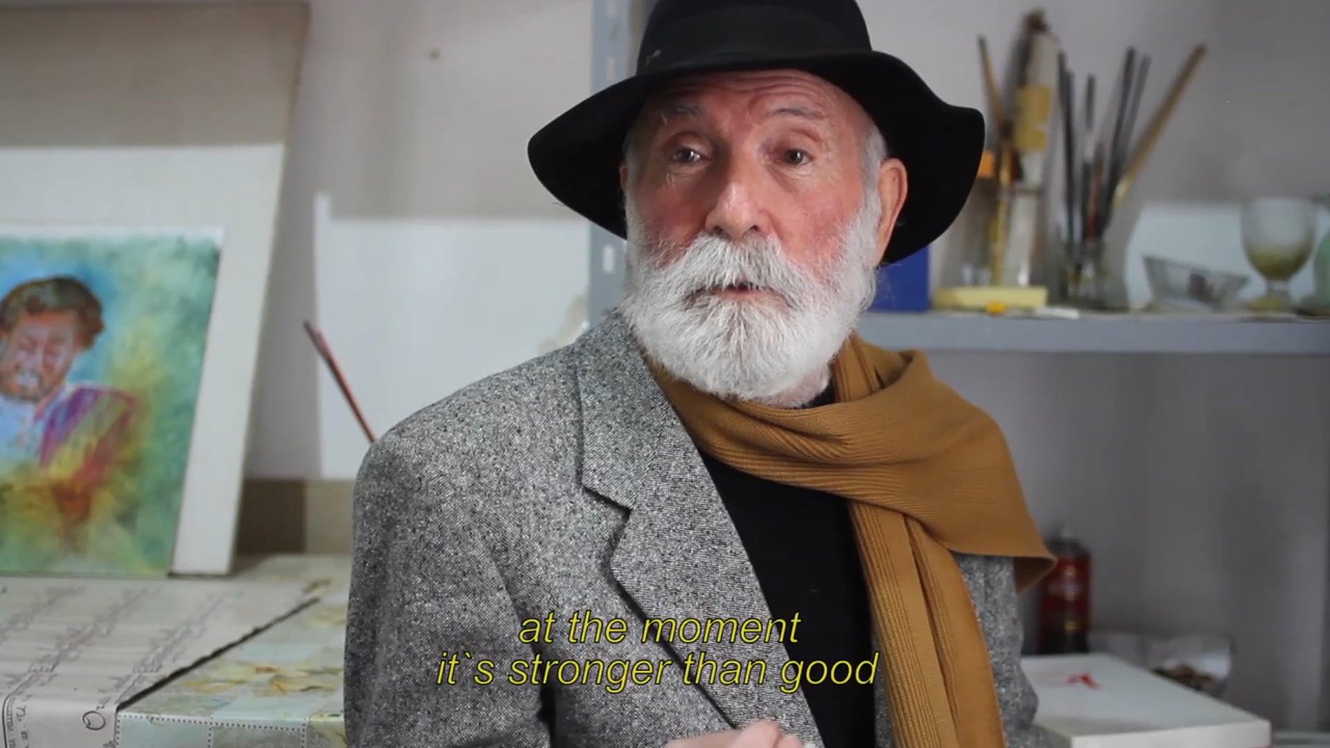 Portrait Saverio Bianco- painter