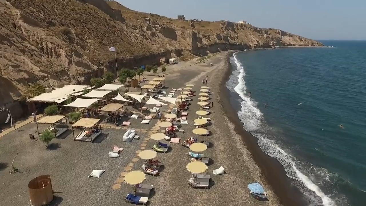 Aegialos Beach Bar | Santorini 2015
