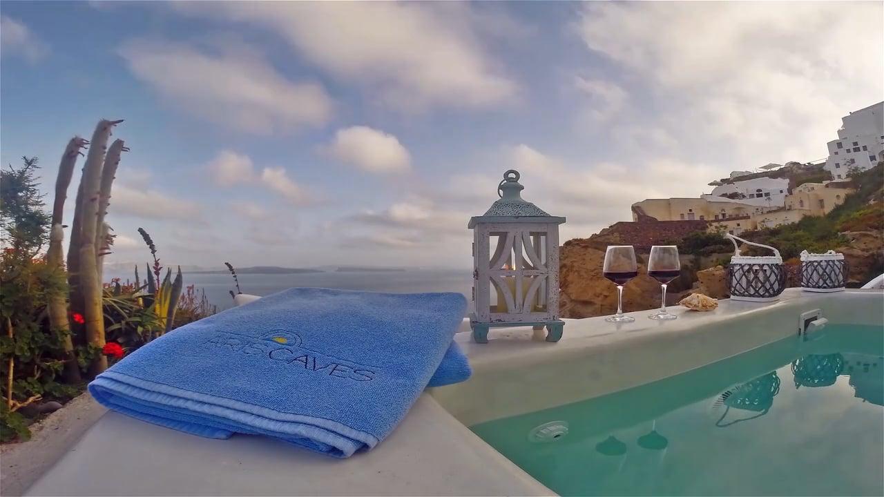 Aris Caves Hotel | Santorini 2015