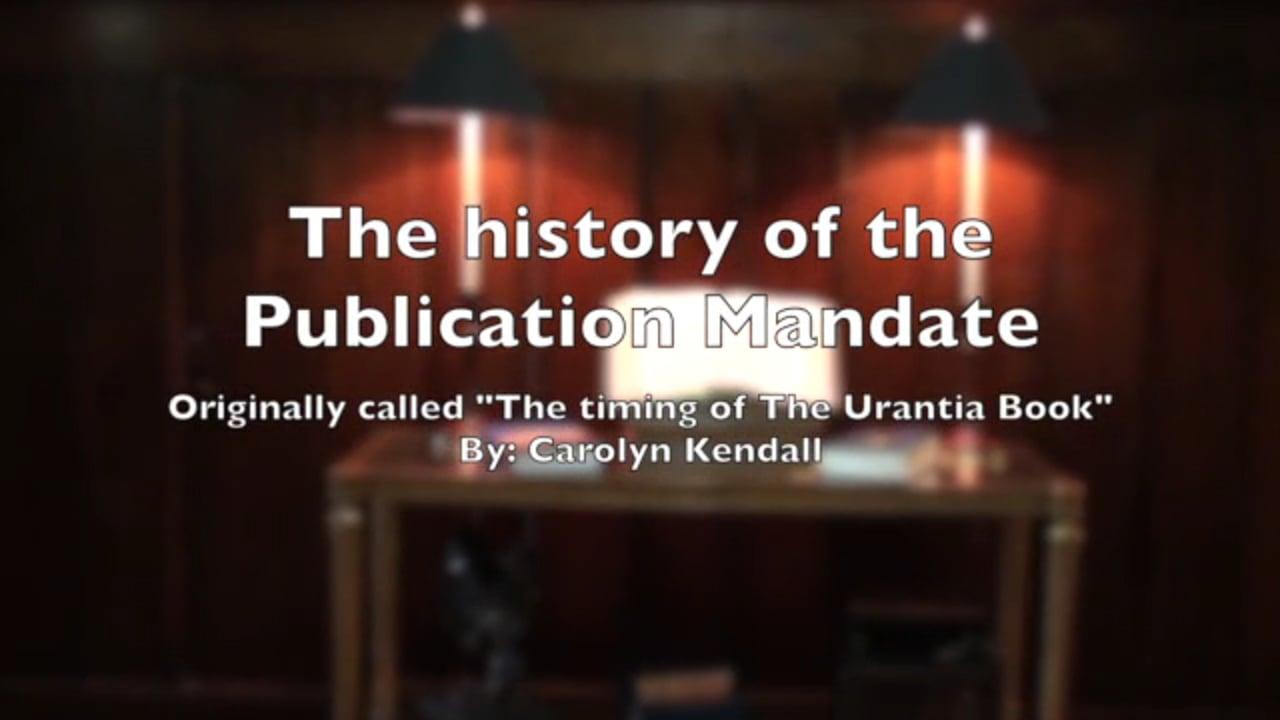 Histoire du mouvement Urantia